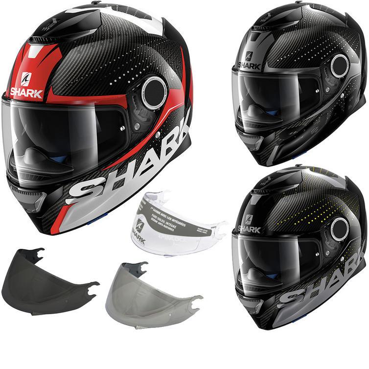 shark spartan carbon cliff motorcycle helmet visor. Black Bedroom Furniture Sets. Home Design Ideas