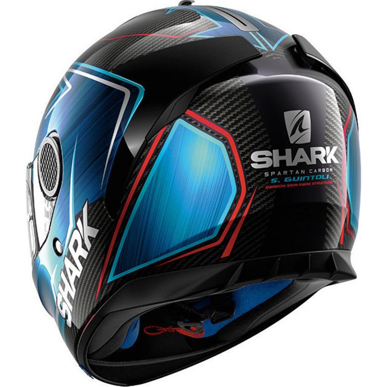 shark spartan carbon guintoli motorcycle helmet visor. Black Bedroom Furniture Sets. Home Design Ideas