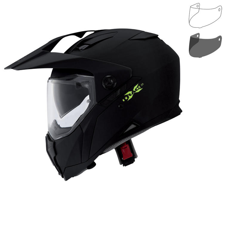 Caberg X-Trace Plain Dual Sport Helmet & Visor
