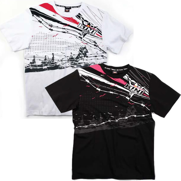 kini red bull energy barbwire t shirt clearance. Black Bedroom Furniture Sets. Home Design Ideas