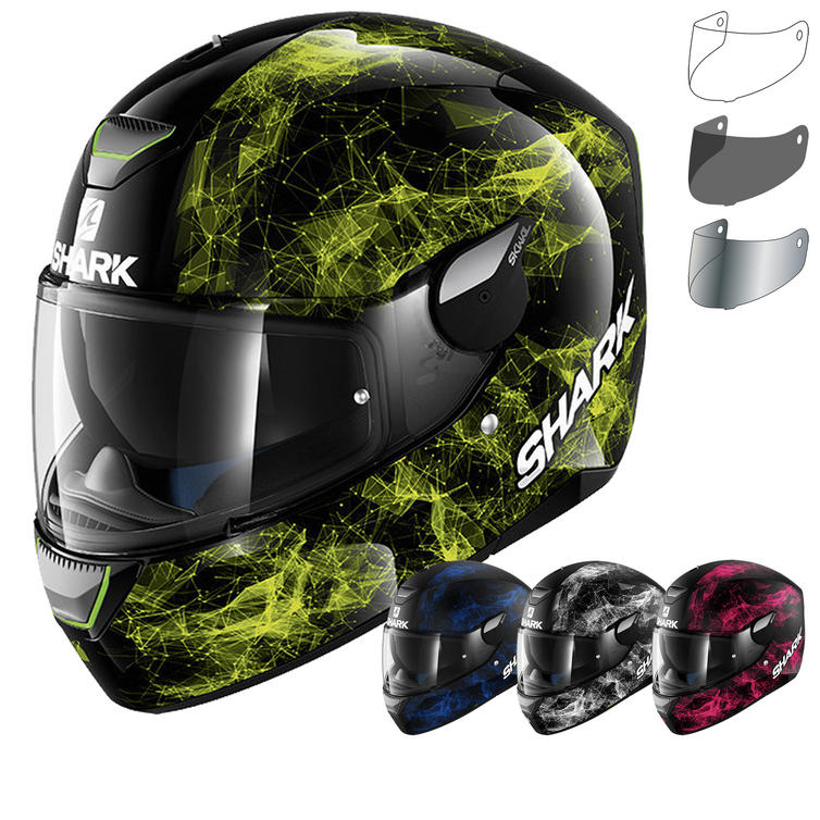 Shark Skwal Hiya Motorcycle Helmet & Visor