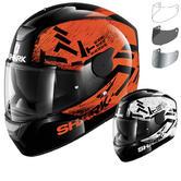 Shark D-Skwal Hiwo Motorcycle Helmet & Visor