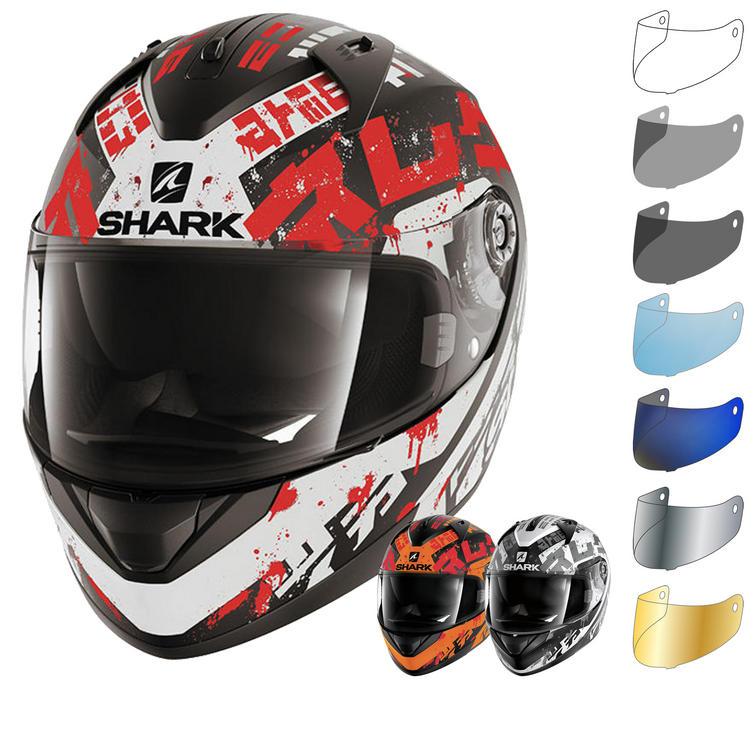 Shark Ridill Kengal Motorcycle Helmet & Visor
