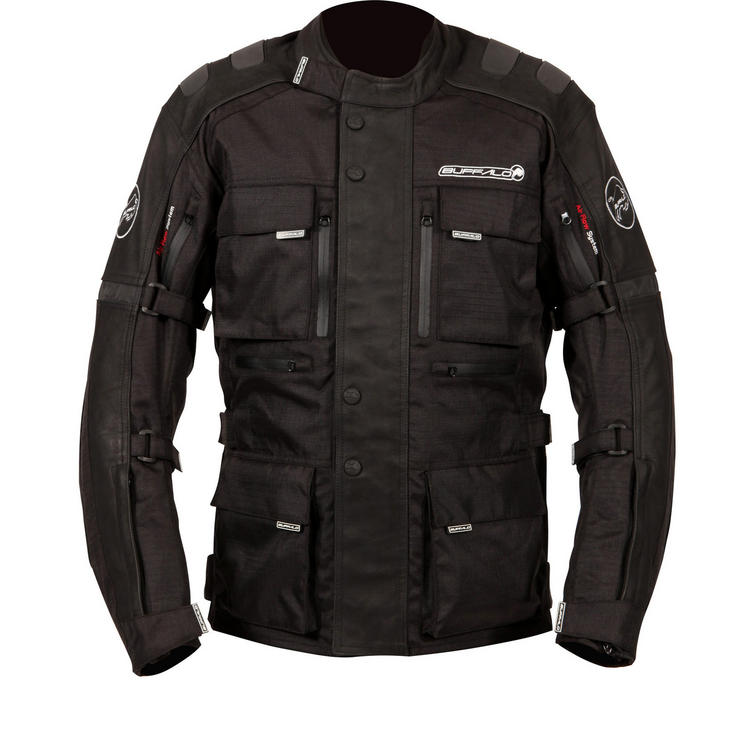 Buffalo Explorer Leather Motorcycle Jacket