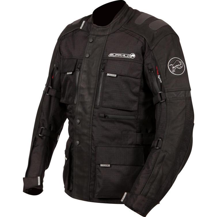 Buffalo Explorer Leather Motorcycle Jacket