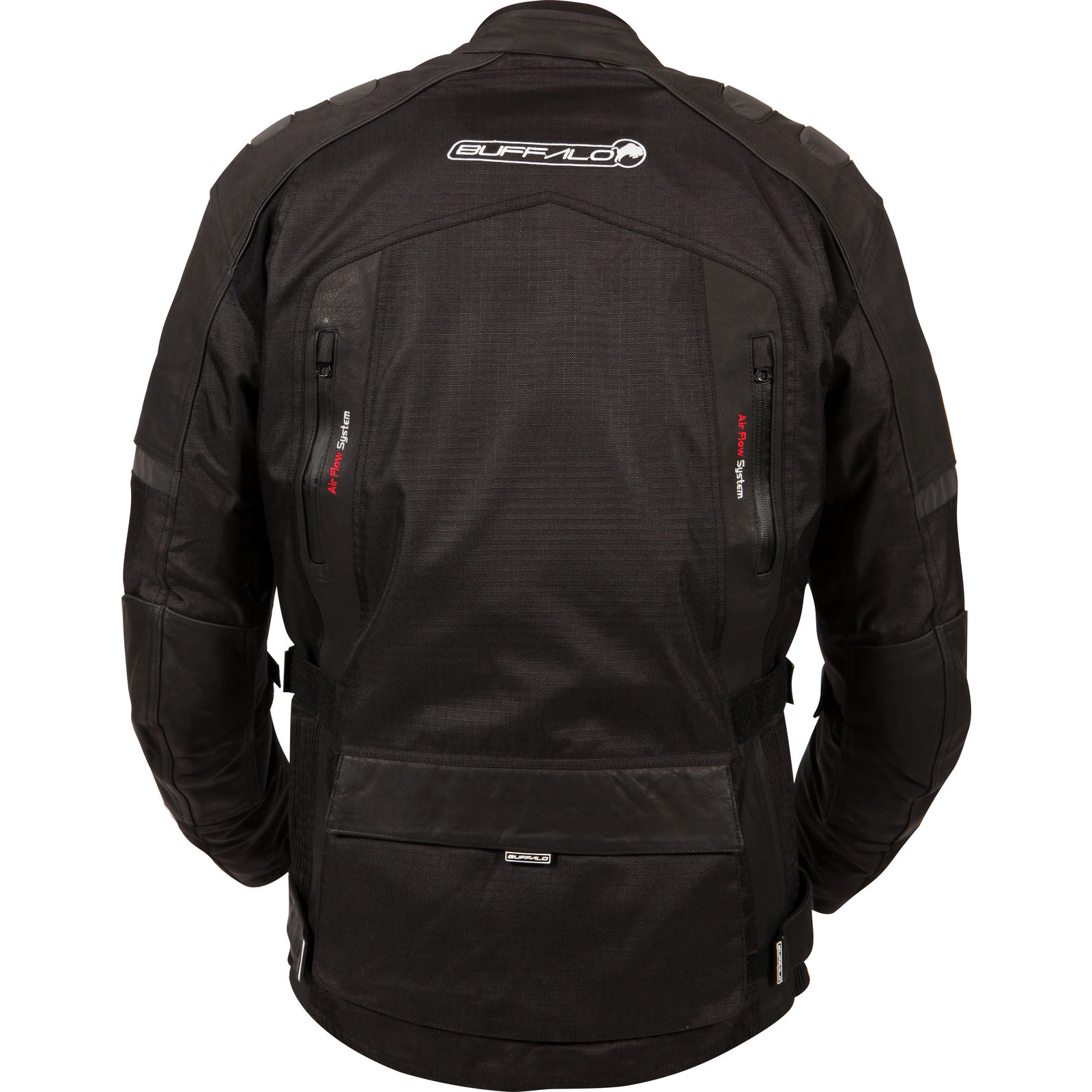 Buffalo-Explorer-Leather-Motorcycle-Bike-Jacket-Waterproof-Windproof-Breathable