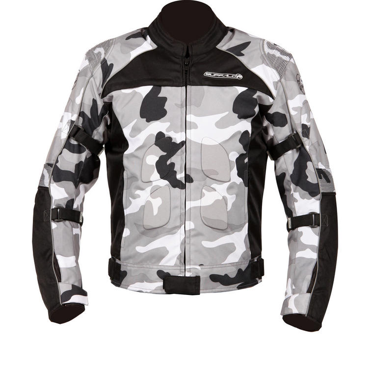 Buffalo Camo Motorcycle Jacket