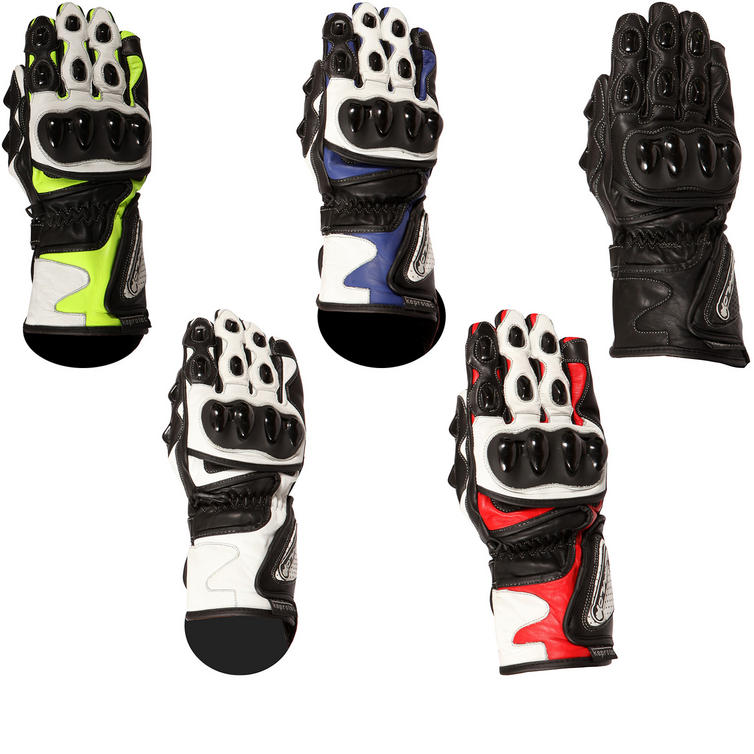 Buffalo BR30 Leather Motorcycle Gloves