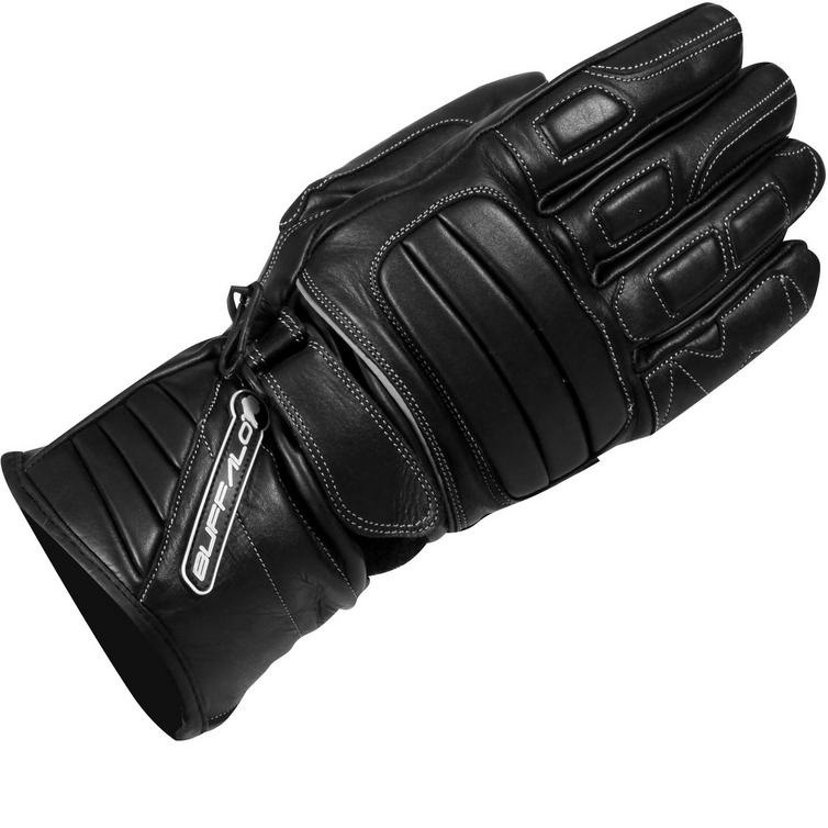 Buffalo Everest Leather Motorcycle Gloves