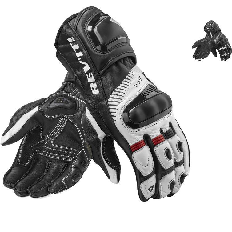 Rev It Spitfire Leather Motorcycle Gloves