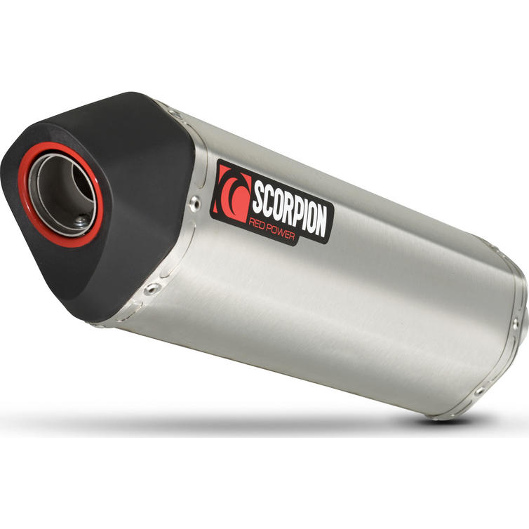 Scorpion Serket Parallel Stainless Oval Exhaust - Honda CRF 1000 L Africa Twin 2015 - 2017