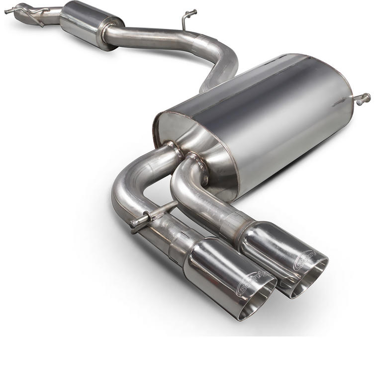 Scorpion Exhaust Cat-Back (Res) Daytona - Audi S3 8P 2.0T Quattro (3 Door & Sportback) 2006 - 2012