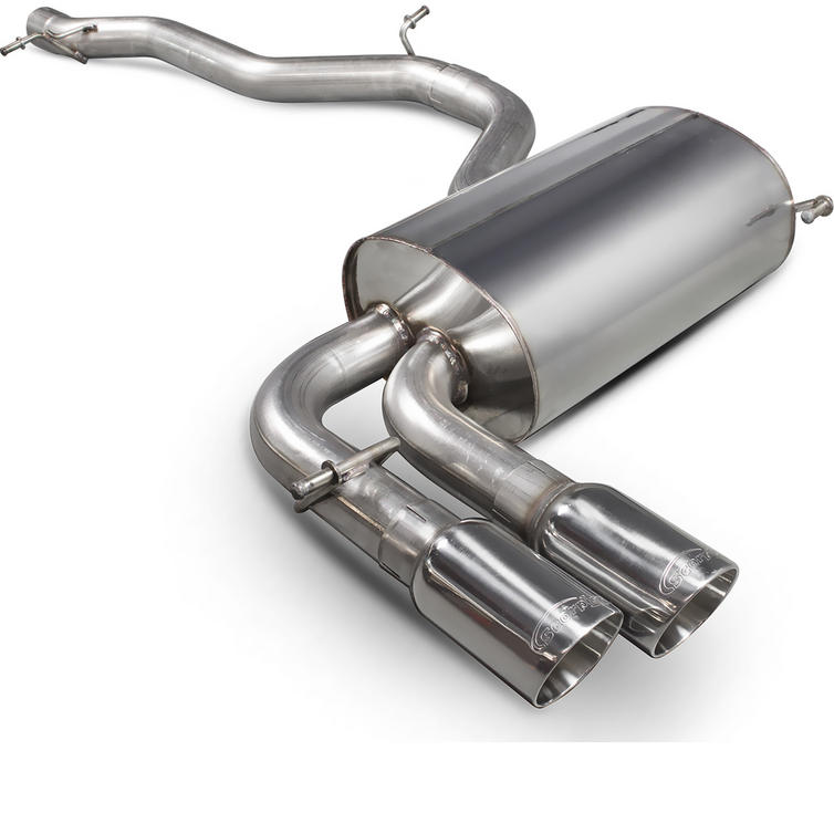 Scorpion Exhaust Cat-Back Daytona - Audi S3 8P 2.0T Quattro (3 Door & Sportback) 06-12