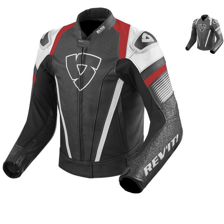 Rev It Spitfire Leather Motorcycle Jacket