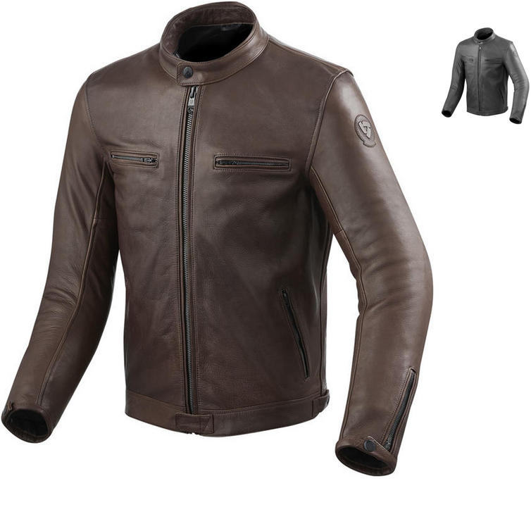 Rev It Gibson Leather Motorcycle Jacket