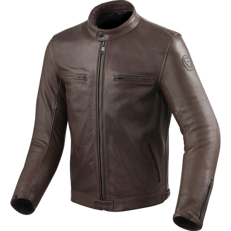 Rev It Gibson Leather Motorcycle Jacket - Jackets ...
