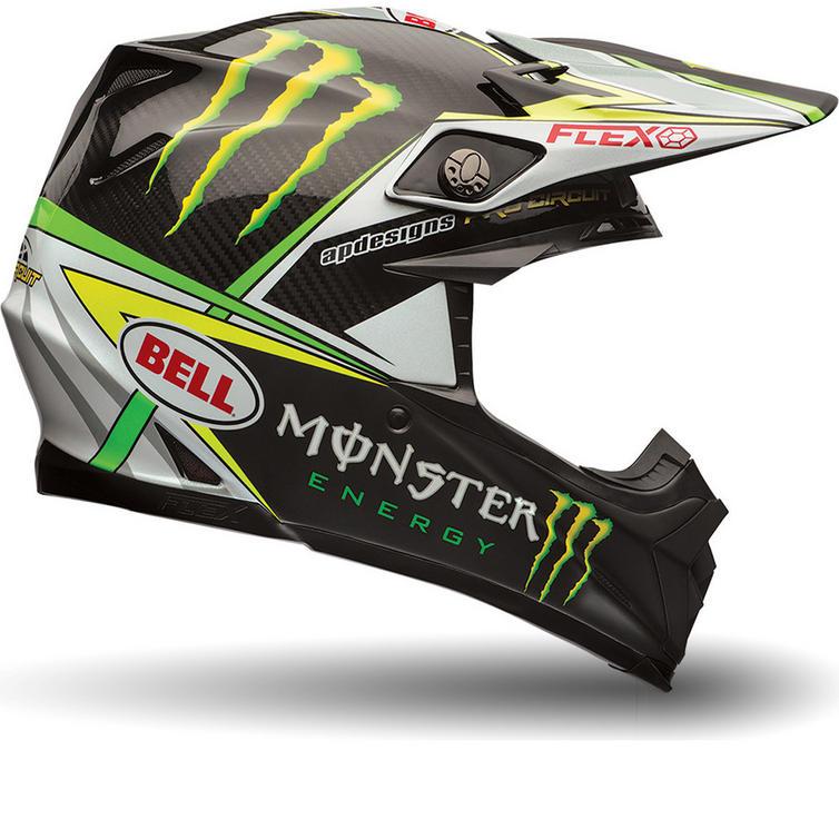 Bell Moto-9 Flex Monster Pro Circuit Motocross Helmet