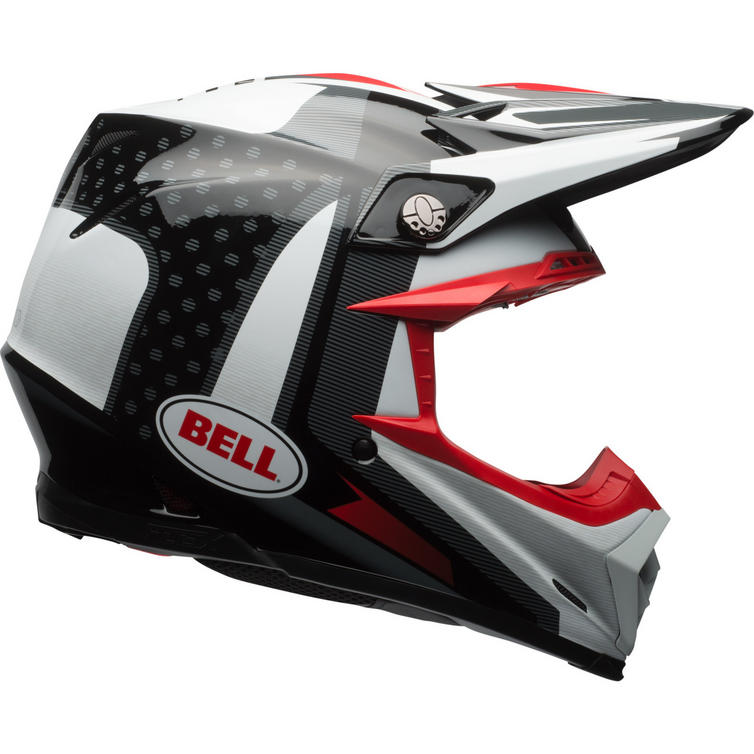 Bell Moto 9 Flex Helmet >> Bell Moto-9 Flex Vice Motocross Helmet - Motocross Helmets - Ghostbikes.com