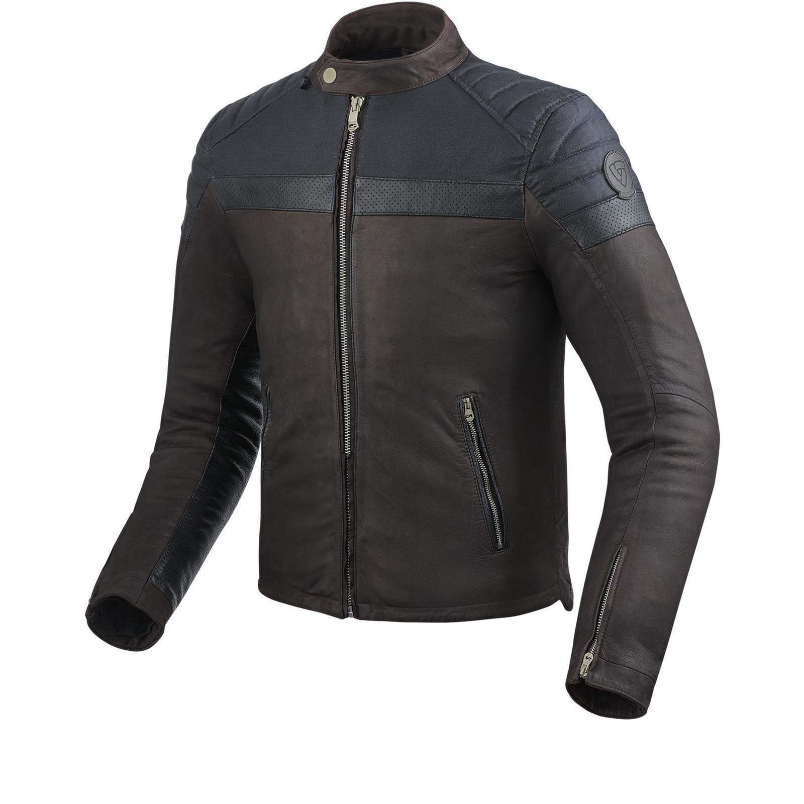 Rev It Fargo Leather Motorcycle Jacket