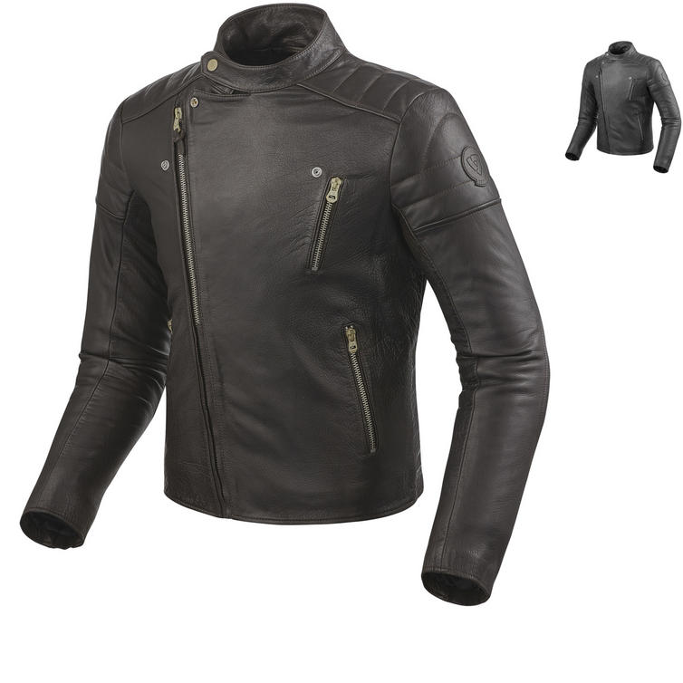 Rev It Vaughn Leather Motorcycle Jacket