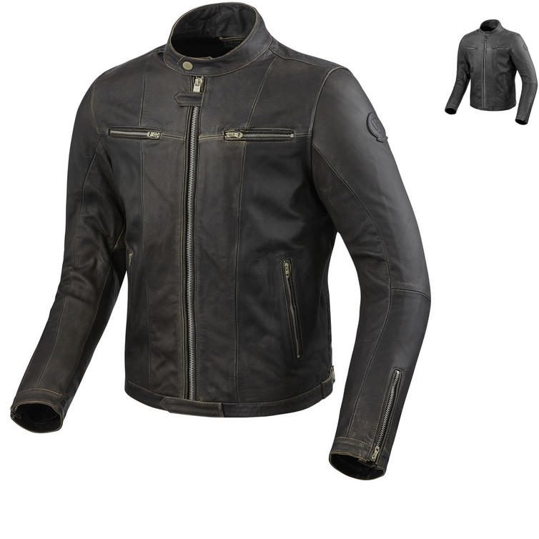 Rev It Roswell Leather Motorcycle Jacket