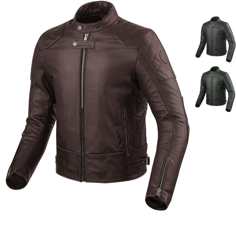 Rev It Lane Leather Motorcycle Jacket