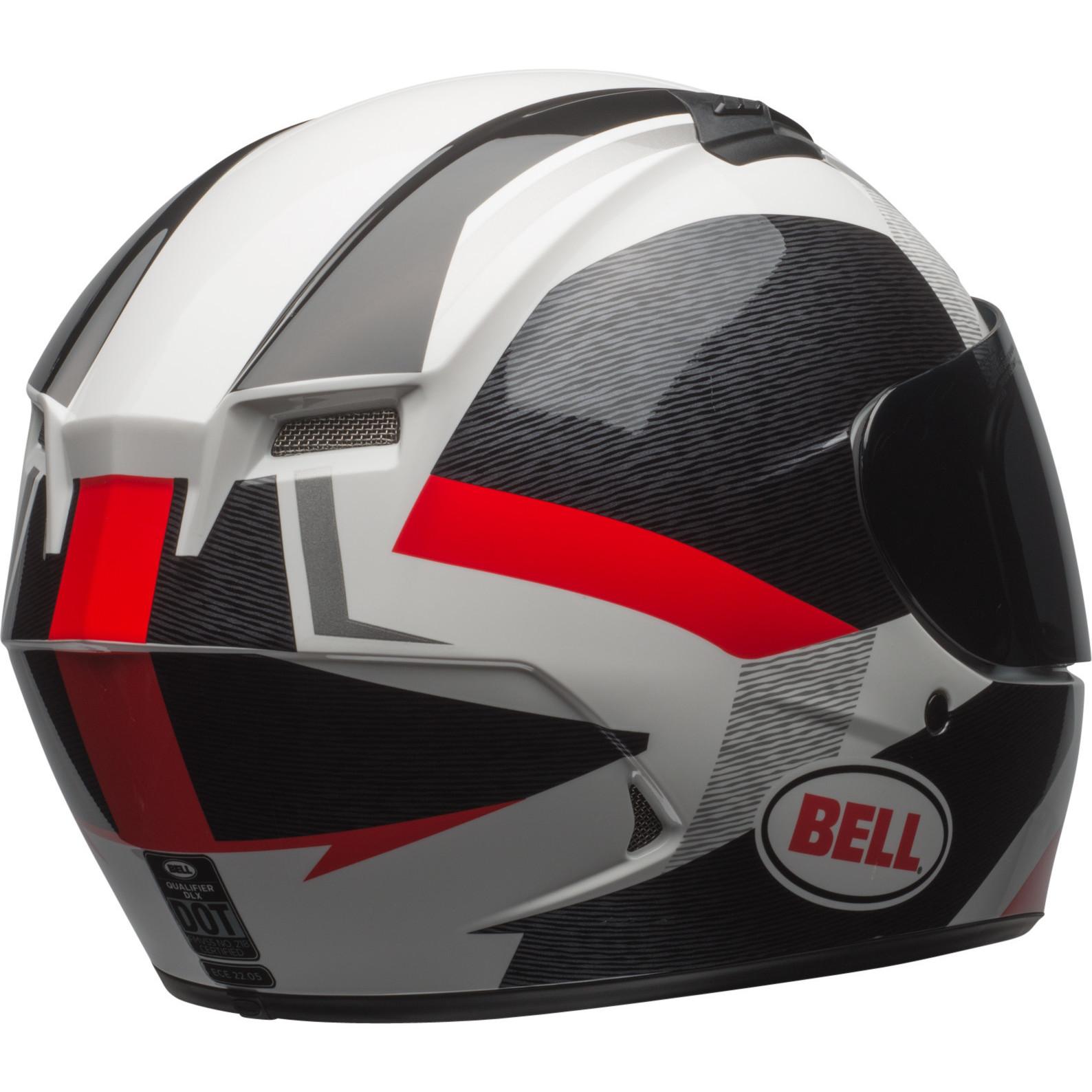 Bell Qualifier DLX MIPS Accelerator Red//Black Sports Motorcycle Motorbike Helmet