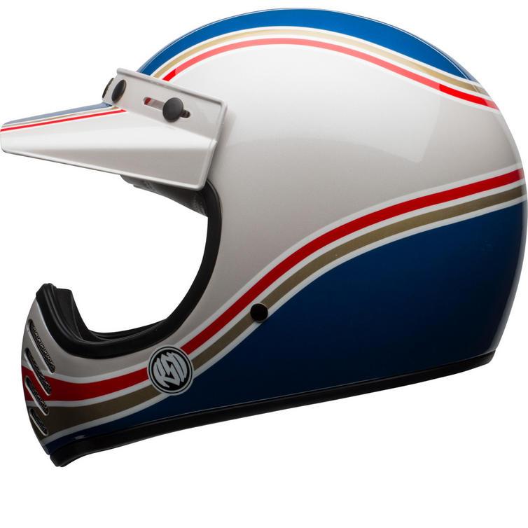 Bell Moto-3 RSD Malibu Motorcycle Helmet