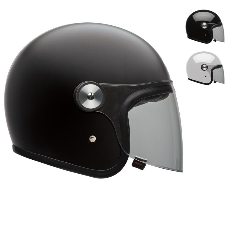 Bell Riot Solid Open Face Motorcycle Helmet