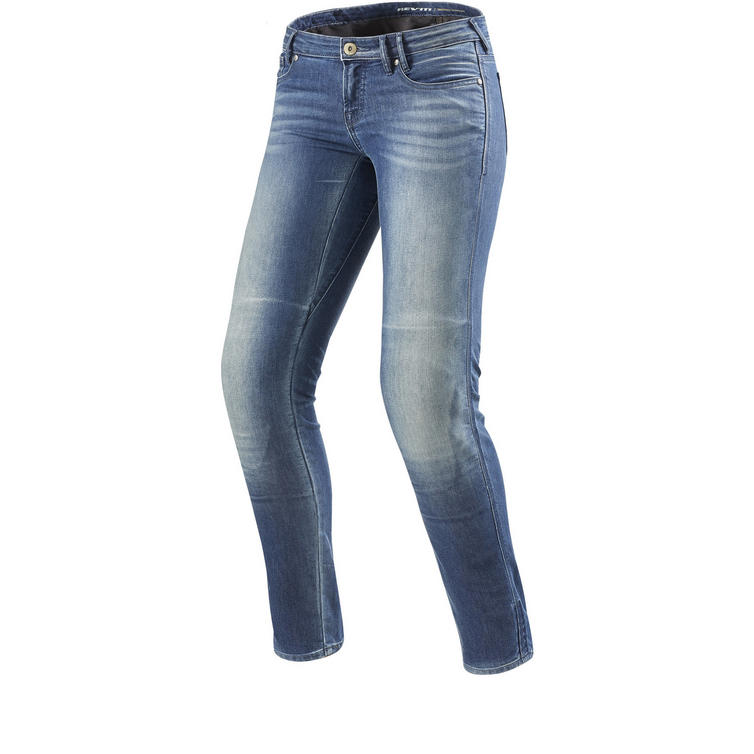 Rev It Westwood Ladies SF Light Blue Motorcycle Jeans