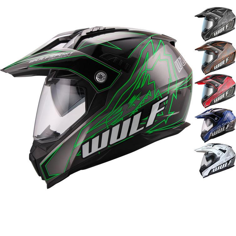 Wulf Prima X Dual Sport Helmet