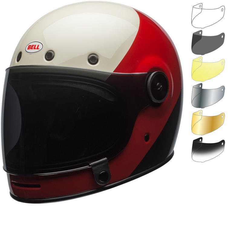 Bell Bullitt Triple Threat Motorcycle Helmet & Visor