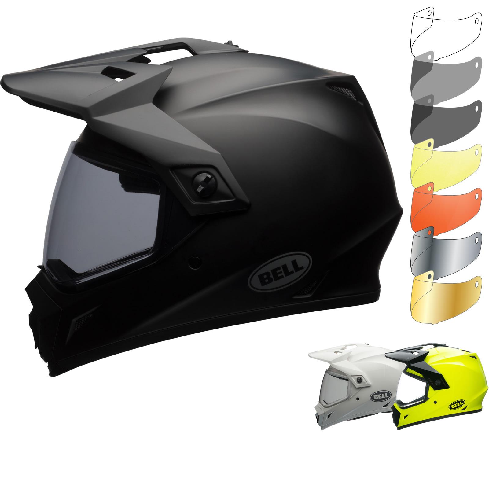 Bell Dual Sport Helmet >> Bell Mx 9 Adventure Mips Solid Dual Sport Helmet Visor Adventure