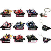 Moto GP Racing Key Chain