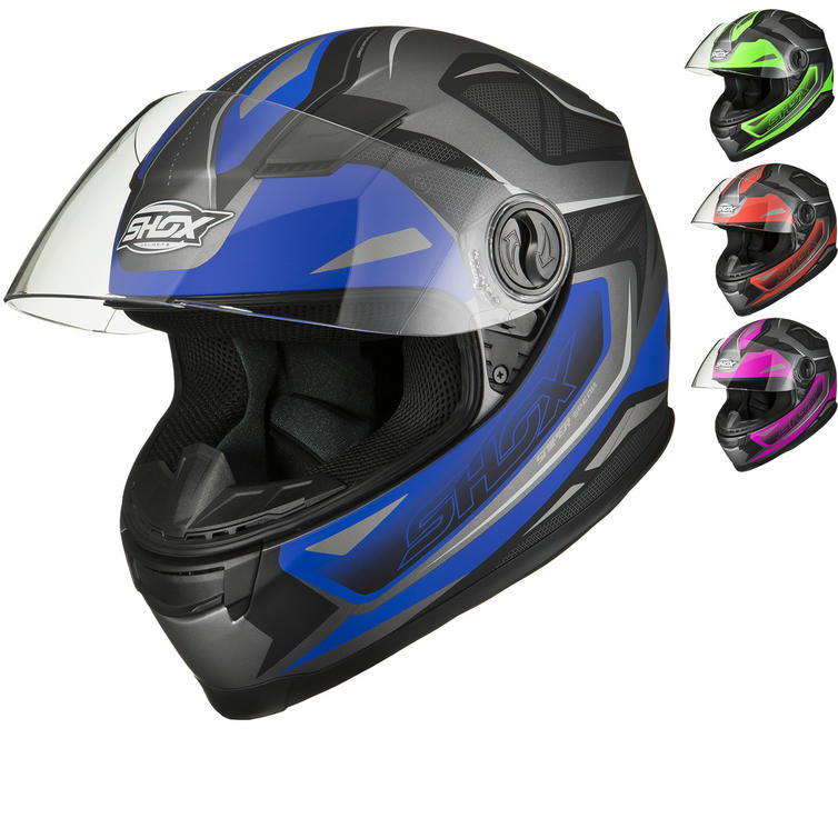 Shox Sniper Spear Motorcycle Helmet
