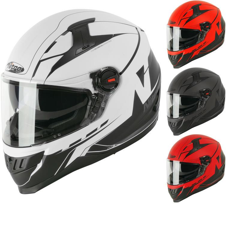 Nitro N2200 Analog DVS Motorcycle Helmet