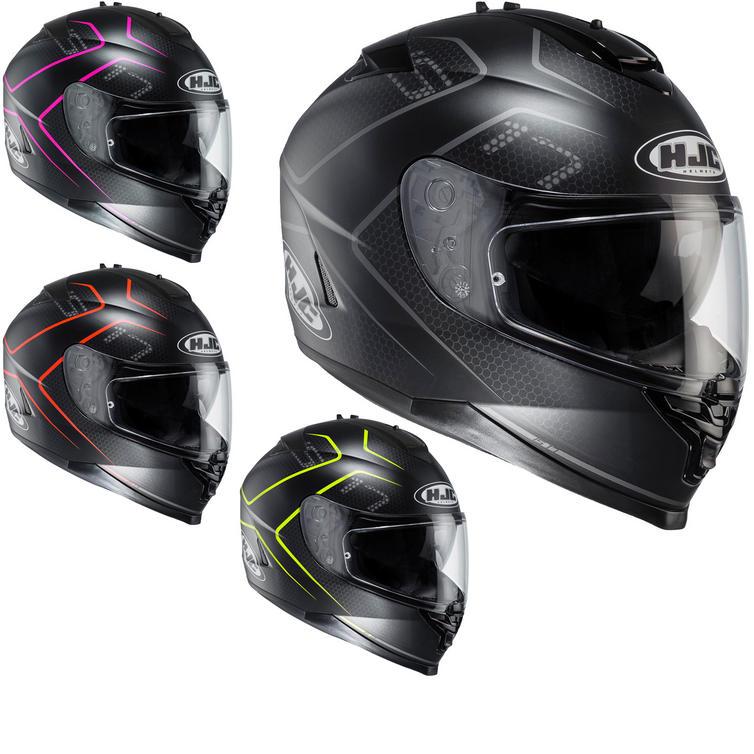 HJC IS-17 Lank Motorcycle Helmet