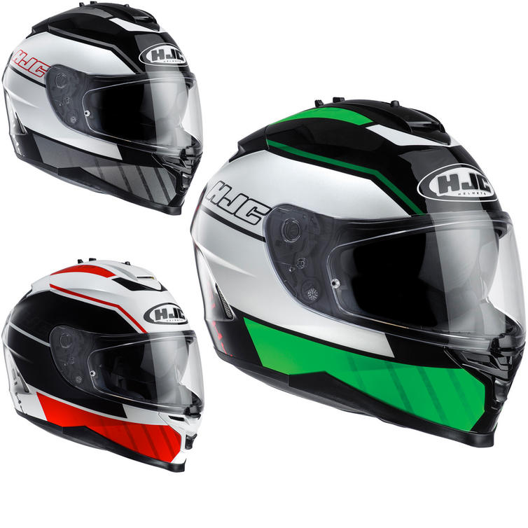 HJC IS-17 Tridents Motorcycle Helmet