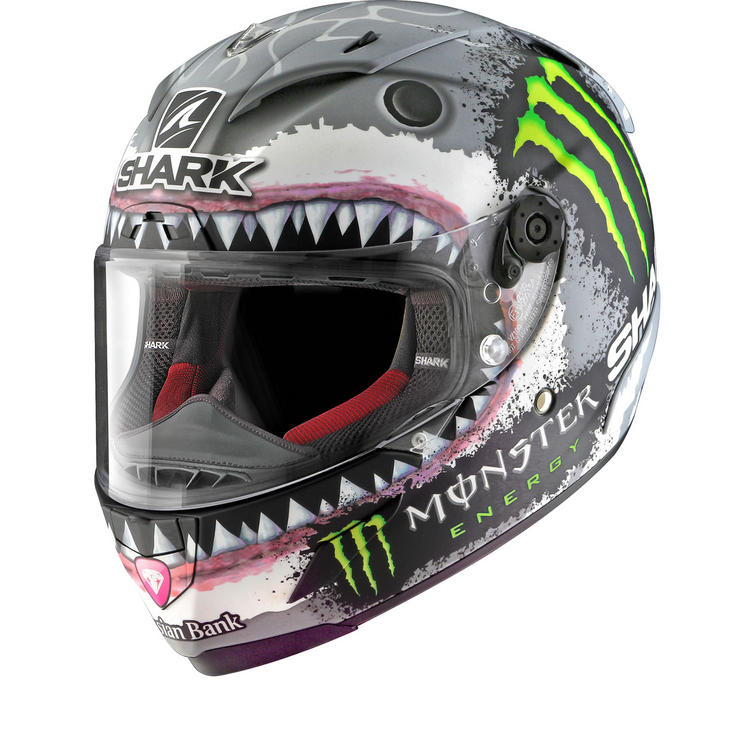 Shark Race-R Pro Carbon Lorenzo White Shark Limited Edition Motorcycle Helmet