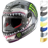 Shark Race-R Pro Carbon Lorenzo White Shark Limited Edition Motorcycle Helmet & Visor