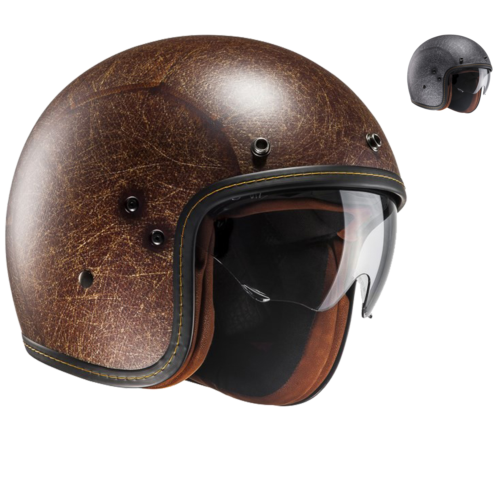 details for store factory outlets Details about HJC FG-70S Vintage Open Face Motorcycle Helmet Retro  Motorbike Scooter Urban Lid