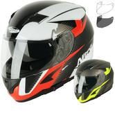 Nitro N2300 Rift DVS Motorcycle Helmet & Visor