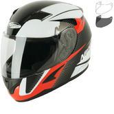 Nitro N2300 Rift Junior Motorcycle Helmet & Visor