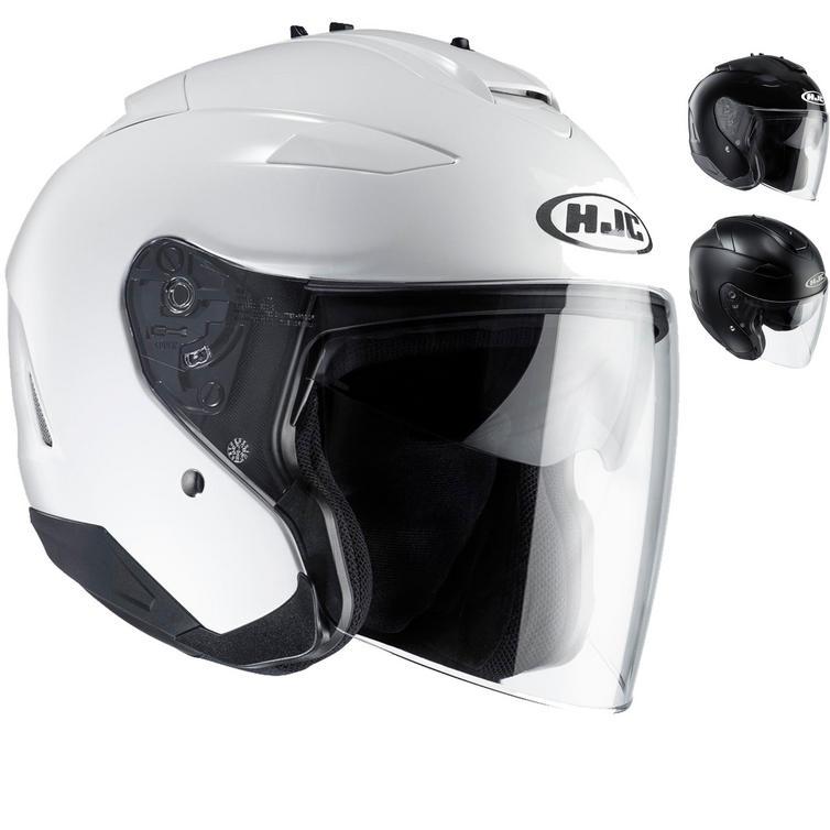 HJC IS-33 II Plain Open Face Motorcycle Helmet