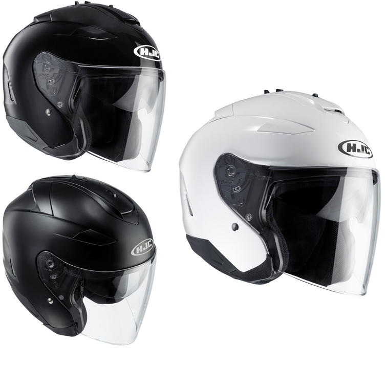 HJC IS-33 II Plain Open Face Motorcycle Helmet