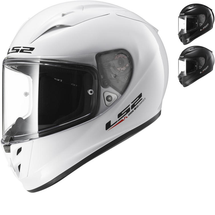 LS2 FF323 Arrow R Evo Solid Motorcycle Helmet