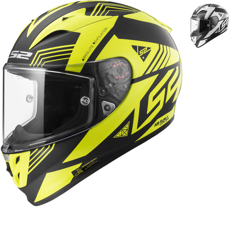 LS2 FF323 Arrow R Evo Neon Motorcycle Helmet