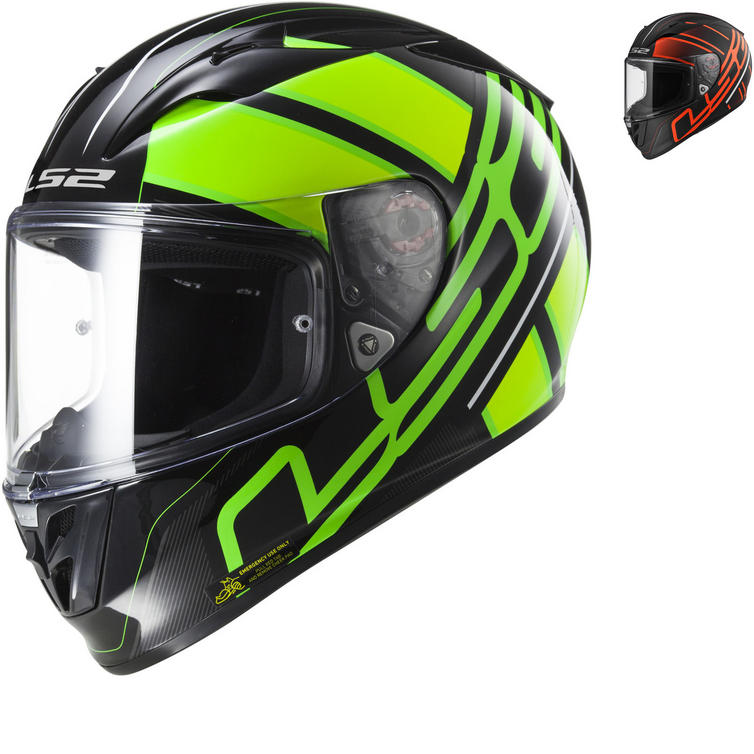 LS2 FF323 Arrow R Evo Ion Motorcycle Helmet