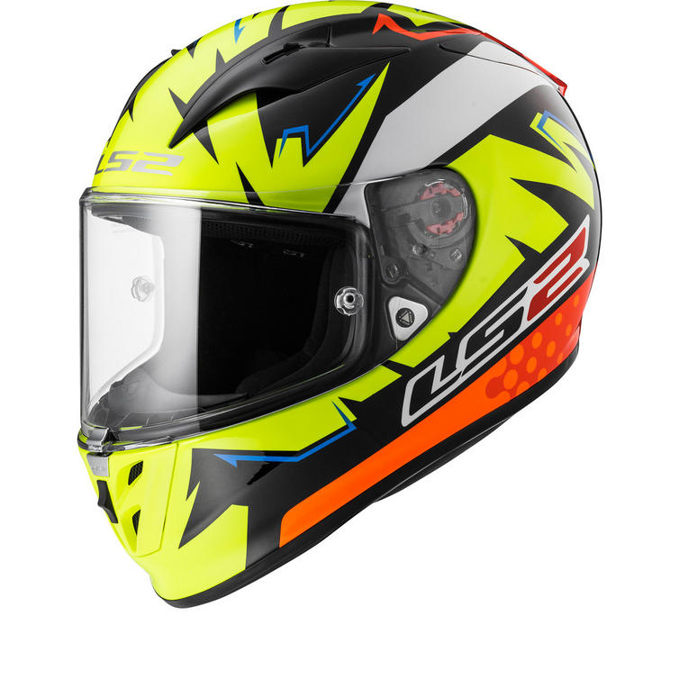 LS2 FF323 Arrow R Evo Volt Motorcycle Helmet