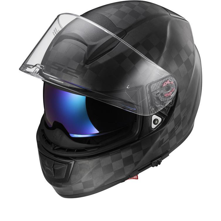 LS2 FF397 Vector C Solid Motorcycle Helmet
